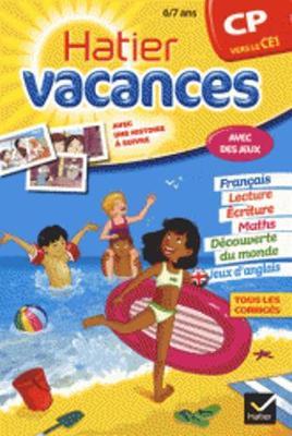 Cahiers De Vacances Hatier: CP (Vers Le Ce1) 6/7 Ans (Paperback)