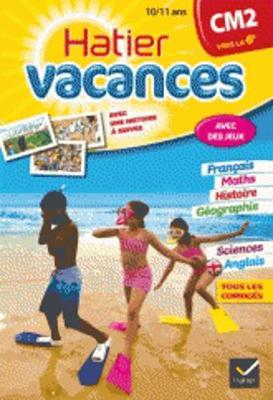 Cahiers De Vacances Hatier: Cm2 (Vers LA 6e) 10/11 Ans (Paperback)
