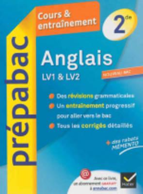 Prepabac Cours Et Entrainement: Anglais Lv1 & Lv2 2de (Paperback)