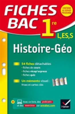 Fiches Bac: Fiches Bac Histoire Geographie 1ere Toutes Series (Paperback)