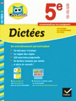 Collection Chouette - Francais: Dictees 5e (12-13 ans) (Paperback)
