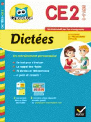 Collection Chouette: Dictees Ce2 (8-9 Ans) (Paperback)