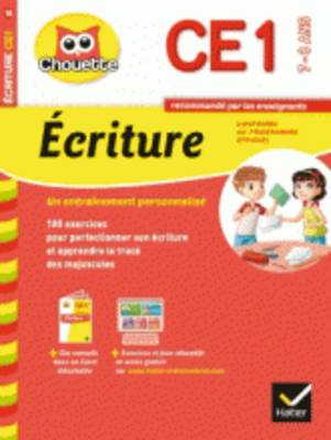 Collection Chouette: Ecriture Ce1 (7-8 Ans) (Paperback)