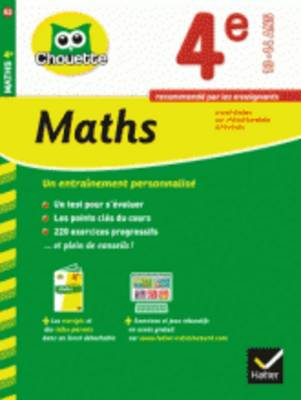Collection Chouette: Maths 4e (13-14 Ans) (Paperback)