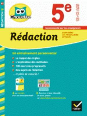 Collection Chouette: Redaction 5e (12-13 Ans) (Paperback)