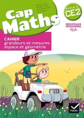 Cap Maths 2016: Cahier de geometrie et mesure CE2 (Paperback)