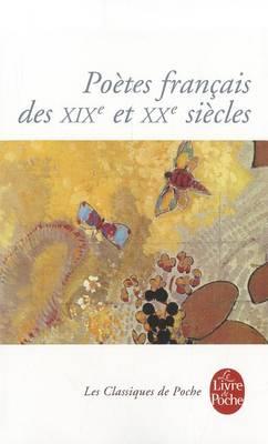 Poetes Francais DES 19 Eme (Paperback)