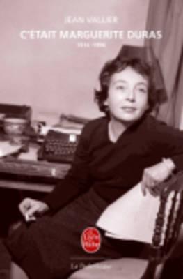 C'etait Marguerite Duras (Paperback)