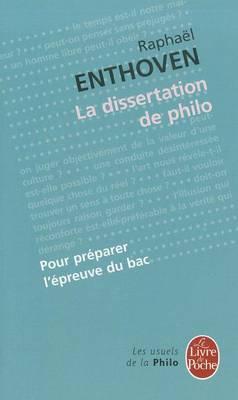 La dissertation de philo (Paperback)