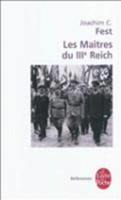 Les Maitres Du Iiie Reich (Paperback)