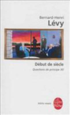 Debut De Siecle/Questions De Principe XII (Paperback)