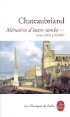 Memoires D'Outre-Tombe 3 (Paperback)