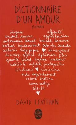 Dictionnaire d'un amour (Paperback)
