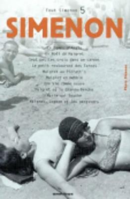 Tout Simenon: Vol 5 (Paperback)