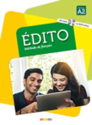 Edito (nouvelle edition): Livre de l'eleve A2 + CD MP3 + DVD + livre num\e