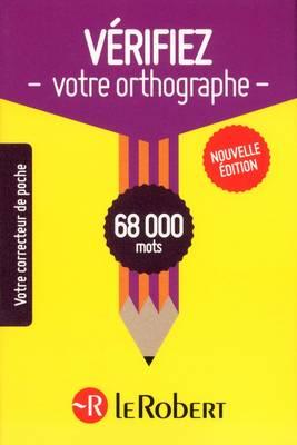 Verifiez Votre Orthographe (Paperback)