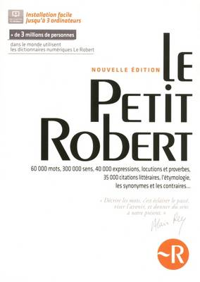 Le Petit Robert De La Langue Francaise: Download for PC/Mac (CD-ROM)