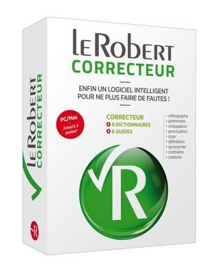 Le Robert Correcteur Coffret Numerique (CD-ROM)