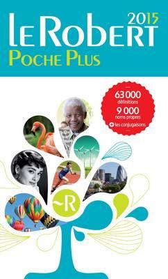 Le Robert Poche Plus 2015 (Paperback)