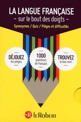 Coffret Mini Langue Francaise Quiz, Pieges et Synonymes (Paperback)
