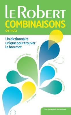 Dictionnaire: Combinaisons De Mots (Paperback)