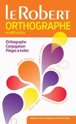 Dictionnaire: Orthographe Et Difficultes Du Francais (Paperback)