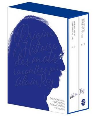 Dictionnaire Historique de la Langue Francaise: 2 Volumes in a case (Hardback)