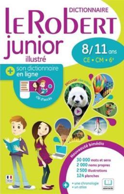 Le Robert Junior Illustre + Son Dictionnaire en Ligne : With Free Internet Access - Le Robert Junior (Hardback)