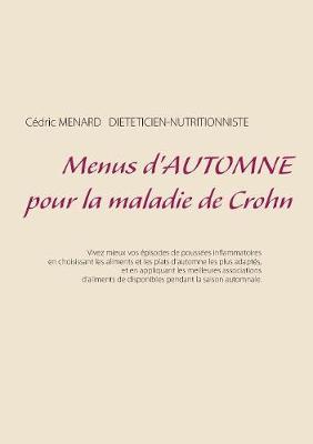 Menus d'automne pour la maladie de Crohn (Paperback)