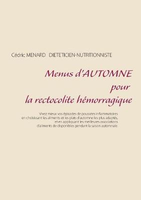 Menus d'automne pour la rectocolite hemorragique (Paperback)