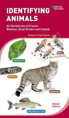 Identifying Animals: All Vertebrates of France, Benelux, Great Britain and Ireland (Paperback)
