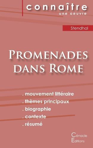 Fiche de lecture Promenades dans Rome (Analyse litteraire de reference et resume complet) (Paperback)