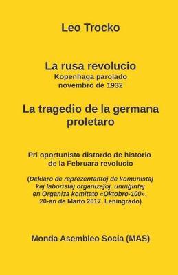 La Rusa Revolucio. La Kopenhaga Parolado, Novembro 1932. . - Mas-Libro 181 (Paperback)