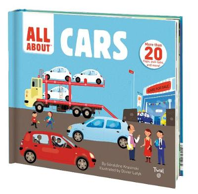 All About Cars >> All About Cars By Geraldine Krasinski Olivier Latyk Waterstones