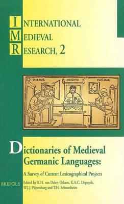 Dictionaries Medieval Germanic Lang (Book)