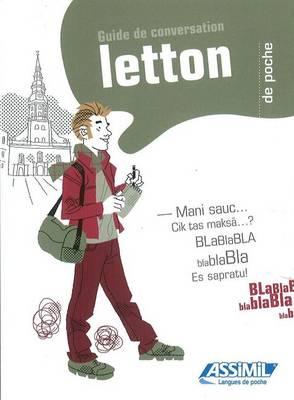 Letton de poche: Guide de conversation (Paperback)