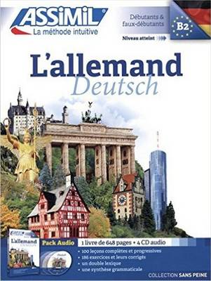 L'Allemand Pack CD (livre+4 CD audio)
