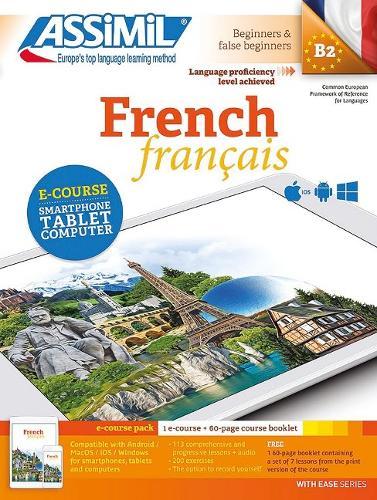 PACK APP-LIVRE FRENCH: Niveau atteint B2 Methode d'apprentissage de francais pour anglophones
