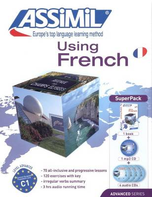 Assimil French: Using French -Superpack [Book + 4 CDs+ Mp3 CD]