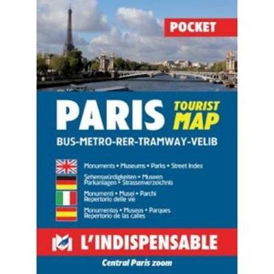 Plans de Paris: Paris street index and maps: Paris pratique par arrondissement (Paperback)