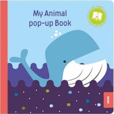 My First Pop-Up Book: Animals (Board book)