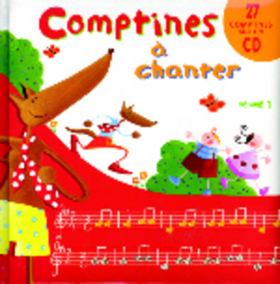 Comptines a Chanter: Comptines a Chanter 1 - Book + CD-Audio