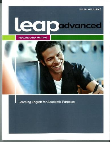 LEAP Advanced Reading and Writing Student Book with CW+