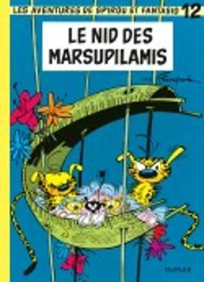 Les aventures de Spirou et Fantasio: Spirou et Fantasio 12/Le nid des marsupilam (Hardback)