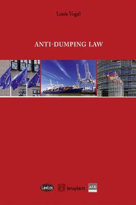 Antidumping Law - Lawlex (Paperback)