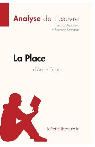 La Place De Annie Ernaux (Paperback)