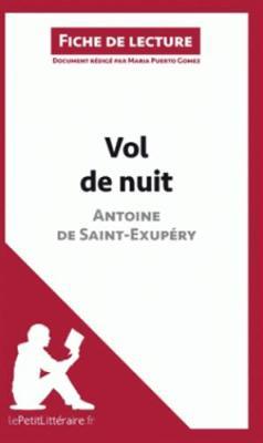 Vol De Nuit De Saint-Exupery (Paperback)
