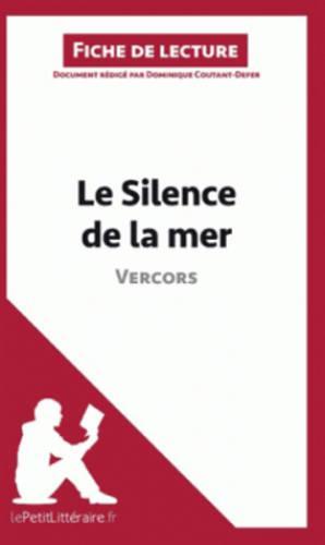Le Silence De La Mer De Vercors (Paperback)