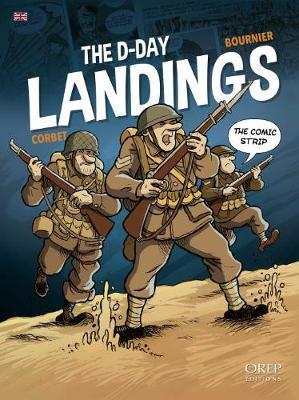 D-Day in Comic Strip (Hardback)
