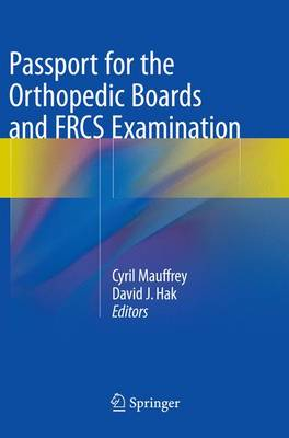 Passport for the Orthopedic Boards and FRCS Examination (Paperback)